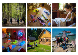 benita yoga retreat in poland collage-2019